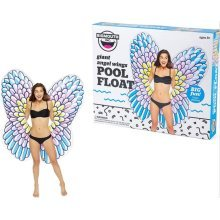 BigMouth Inflatable Giant 5Ft Angel Wings Pool Float Beach Holiday Swimming Lounger Water Beach