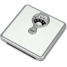 Salter Magnified Display Mechanical Bathroom Scales -  salter bathroom mechanical lens magnifying scales 484 white compact