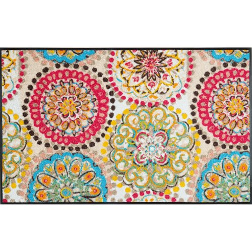 wash+dry Door Mat, Multicoloured, 75 x 120 cm