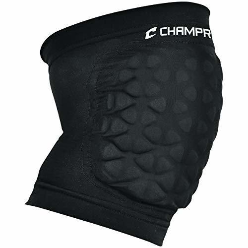 Champro Sports Tri Flex Knee Pads Black Youth
