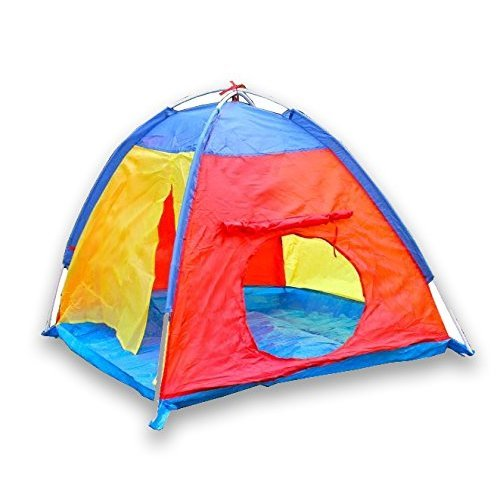 Children Play Tent for Camping Indoors or Outdoor Kid Play Tent Multi-Colored by Sure Luxury