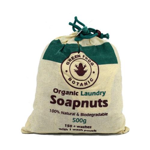 Green Frog Botanic Organic Laundry Soapnuts 500g