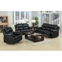 Valencia Real Genuine Leather Recliner Sofas 3+2+1