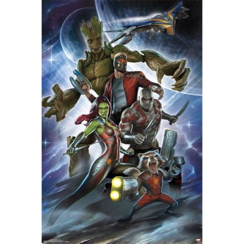 "Poster - Studio B - Gardians of the Galaxy - Attack 23""x35"" Wall Art p4385"