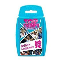 Top Trumps British Olympics Legends Card Game Brand New Sealed