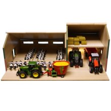 Kids Globe Barn with Stables 1:32 610409