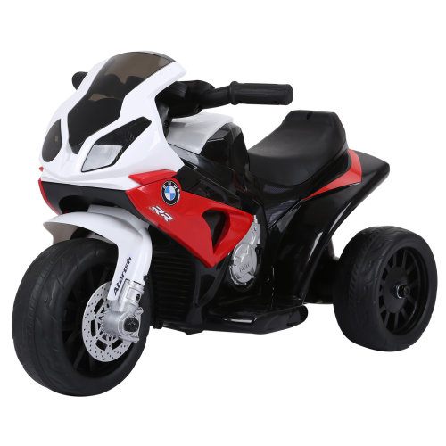 Homcom Compatible For Electric Kids Ride On Motorcycle W Headlights Music Battery Ed Play Bike