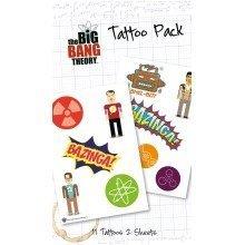 The Big Bang Theory Bazinga Tattoo Pack