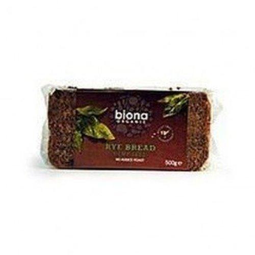 Biona - Org Wholemeal Rye Hemp Bread 500g