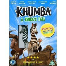 Khumba: A Zebras Tale (with Toy) [DVD]