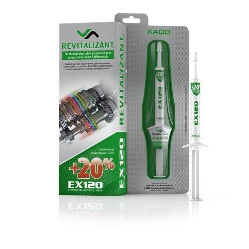 XADO Additive Treatment for Manuel Gear-Box Transmission Differentials Anti-Wear Wear Protection - EX120 Revitalizant