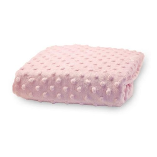 Rumble Tuff CV-CT-220-PK Compact Minky Dot Changing Pad Cover - Pink