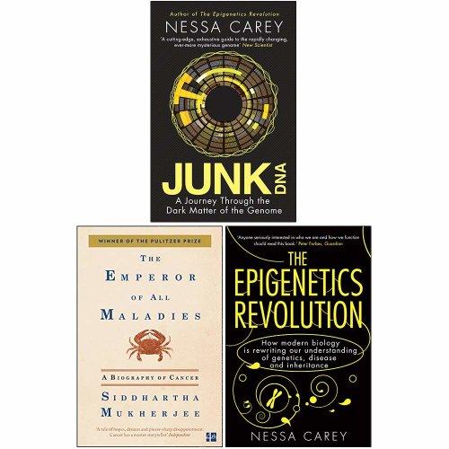 Junk Dna,The Epigenetics Revolution 3 Books Collection Set