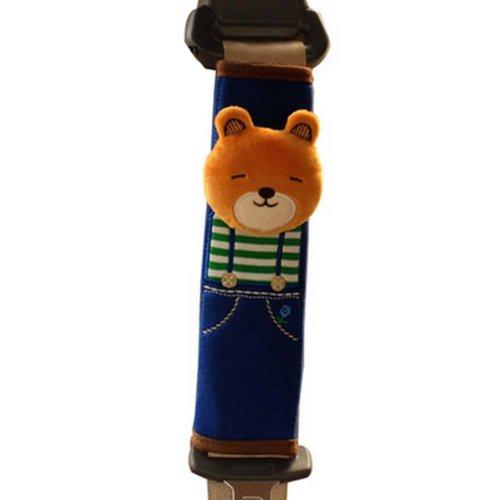 1 Pairs of Automotive Interior Safety Belt Sets  Seat Belt Shoulder Pad,Bear