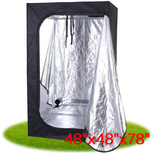 120*120*200CM Indoor Grow Tent Portable Hydroponic Non-Toxic