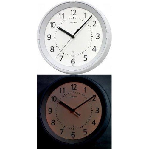 Rhythm 8MG796WR03 Gemini Night Illumination Wall Clock