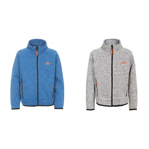 Trespass Childrens Boys Mario Full Zip Fleece Jacket