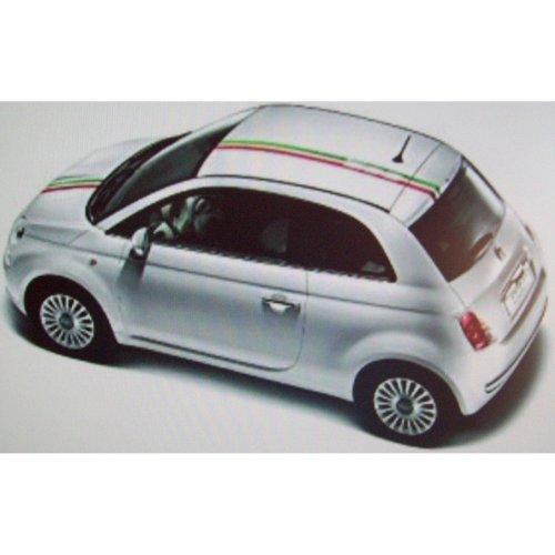 Fiat 500 Italia Genuine New Roof & Bonnet Stripes 50901833