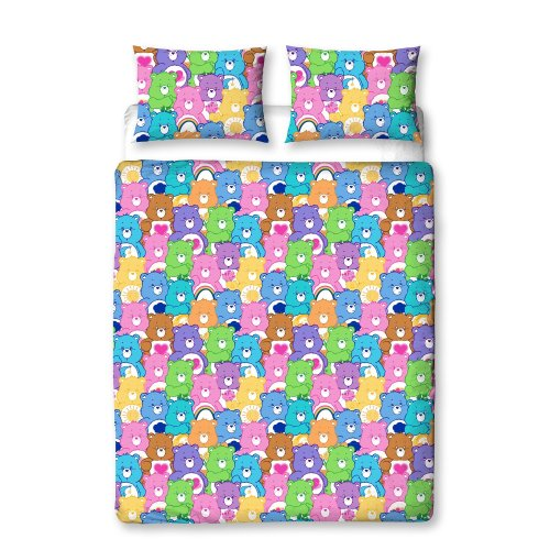 Care Bears Hugs Single Rotary Duvet Cover Set
