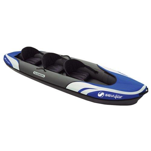 Sevylor Hudson 3 Person Kayak - Blue/Grey