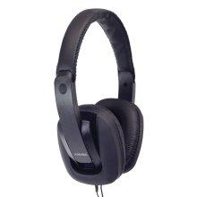 Digital Stereo Fashion Headphones With Luxury Padded Headband - Colour Black