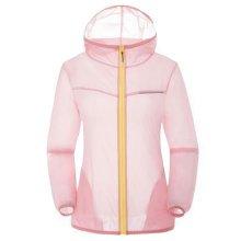 Thin Sun Protective Clothing Women's Clothing Long Sleeve Shirts Raincoat Pink