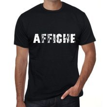 affiche Mens Vintage T shirt Black Birthday Gift 00555