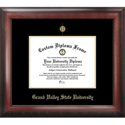 Grand Valley State University  Gold Embossed Diploma Frame