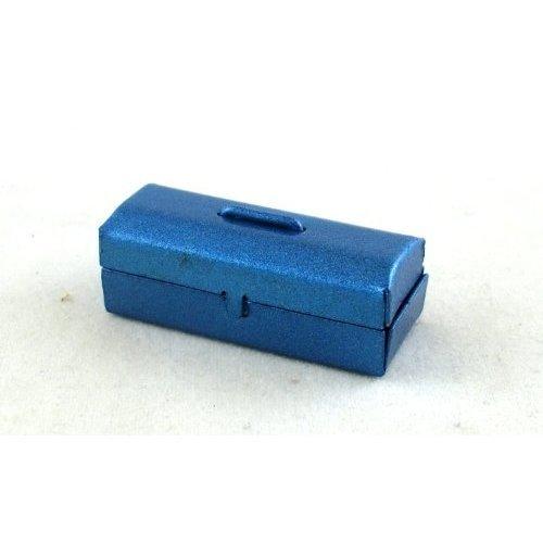 Dollhouse Miniature 1 12 Scale Blue Tool BOX G8131