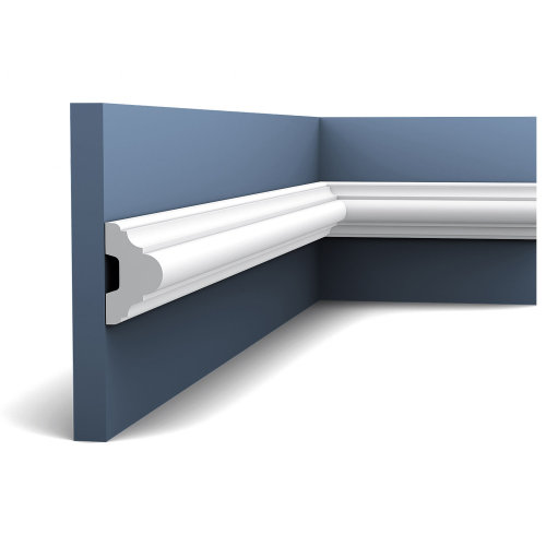 Orac Decor P4020F LUXXUS Flexible Panel Moulding Cornice Stucco | 2 m