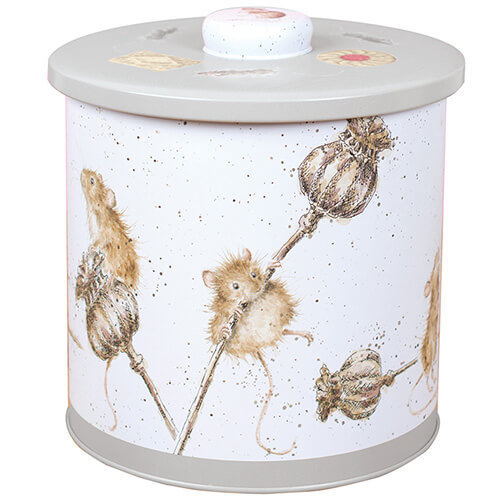 Wrendale Designs Mice Biscuit Tin