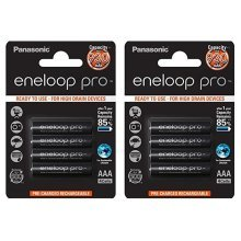 8 x Panasonic eneloop pro AAA 900 mAh Rechargeable Batteries RTU NiMH HR03 Phone