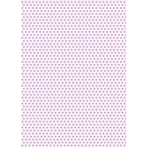 5 x A4 Violet Purple Polka Dot Card Stock, Dot Size:- Medium - PD55
