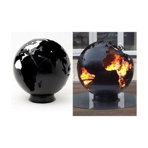 Earth Fire Globe Garden Fire Pit