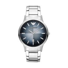Emporio Armani AR2472 Men's Blue Dial Stainless Steel Quartz Watch
