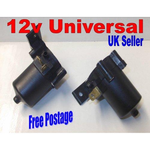12v Volt Universal Windscreen Washer Pump Car Van Auto