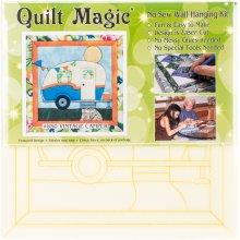 Vintage Camper Quilt Magic Kit-Vintage Camper