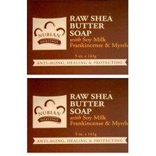 Nubian Heritage Bar Soap Raw Shea Butter -- 5 oz