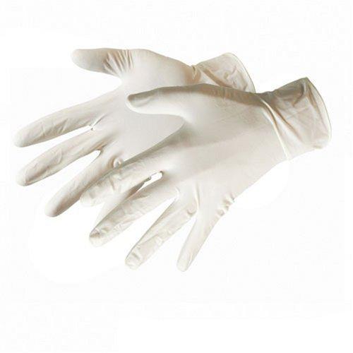Silverline Disposable Rubber Gloves 100pk Large