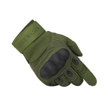 High Quality Wear-resistant Antiskid Rock Climbing Riding Gloves GREEN, XL
