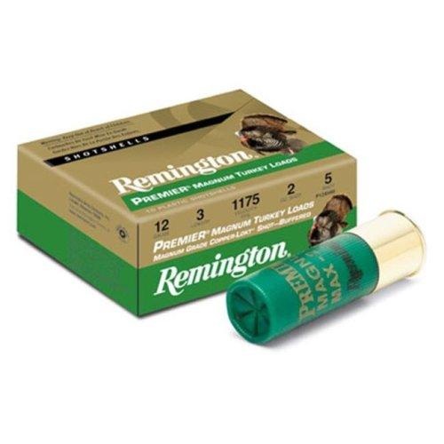 Remington 26835 Premium Magazine Turkey 12Ga 3 In. Max Dr 2Oz Shotshell Copper Plated & Hv 10 100