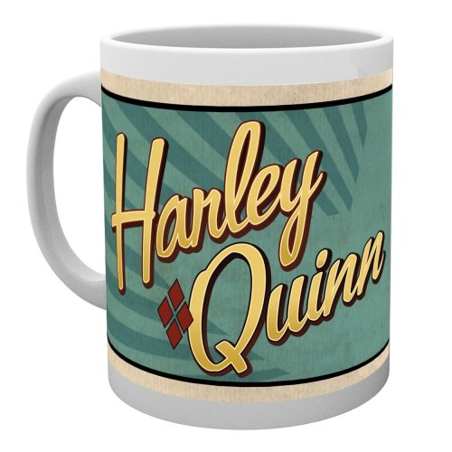 Dc Comics Harley Quinn Bombshells Mug