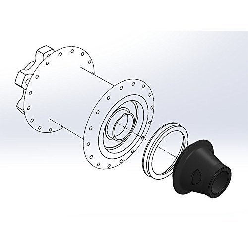 Wolf Tooth Boostinator Hub Adapter 15x100 or 12x142mm to Boost 15x110mm or 12x148mm Thru Axle DF20