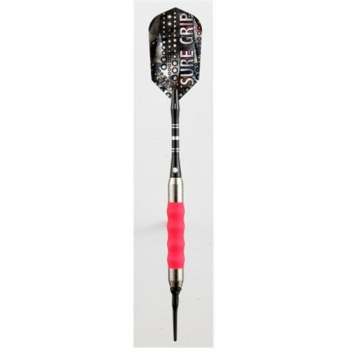 Viper 20-0004-16 Sure Grip Pink Soft Tip Darts - 16 Gram