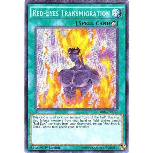 Yu-Gi-Oh! - Red-Eyes Transmigration (DRL2-EN017) - Dragons of Legend 2 - 1st Edition - Super Rare