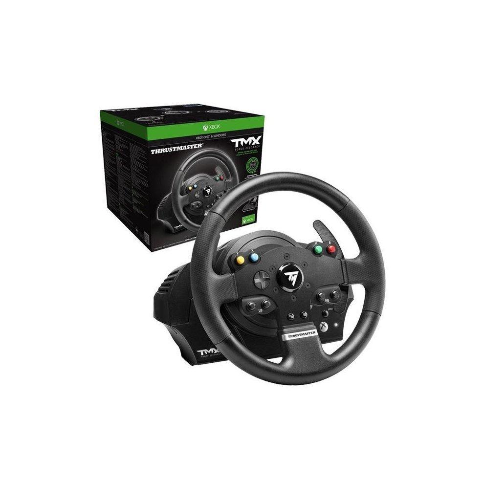 thrustmaster tmx force feedback racing wheel xbox one on onbuy. Black Bedroom Furniture Sets. Home Design Ideas