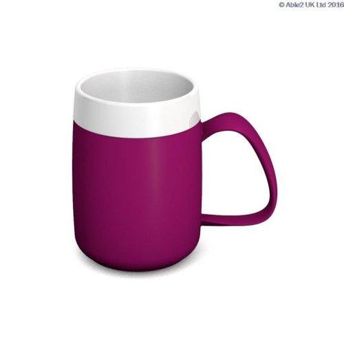 Ornamin One Handled Mug + Internal Cone - 140ml - Drinking Aid