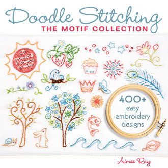 Lark Books-Doodle Stitching: The Motif Collection
