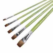 Watercolor Paintbrushes Long Handled Brush Sets Painting Tools,5-Piece(G1865)