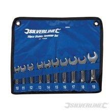 Silverline Stubby Spanner Set